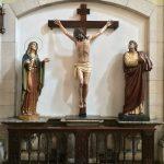 Virgen Dolorosa, Cristo del Amor y San Juan